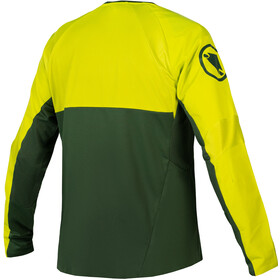 Endura MT500 Burner II Longsleeve Jersey Heren, forest green